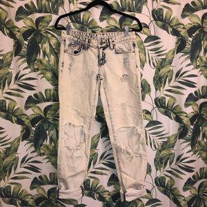 Carmar light wash boyfriend jeans